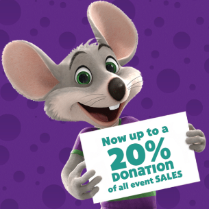 Chuck E. Cheese School Fundraiser for Summit Park Elementary