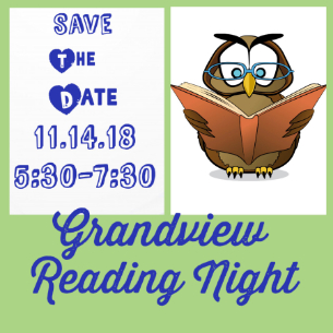 save the date for reading night