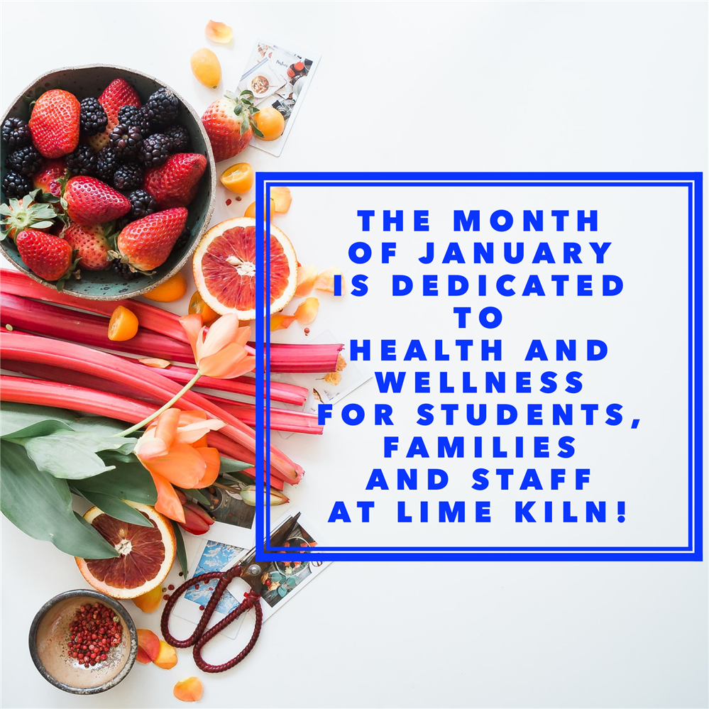 January is Health and Wellness Month!