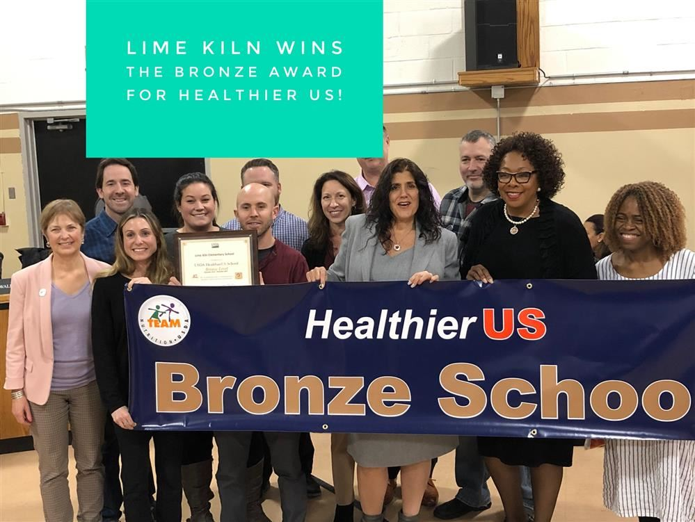 Healther US Schools- Bronze Award Winners!