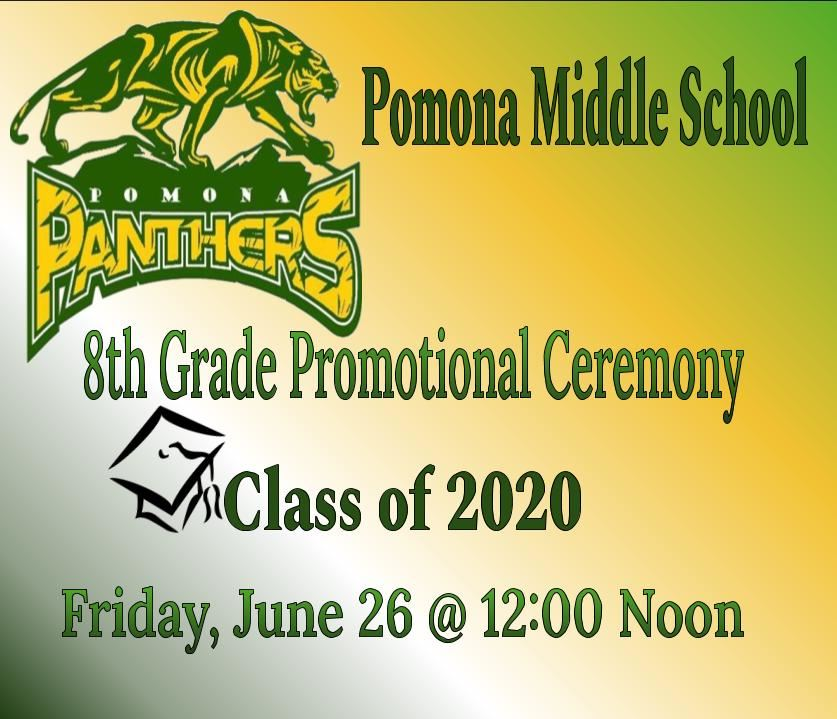 8th Grade Promotional Ceremony