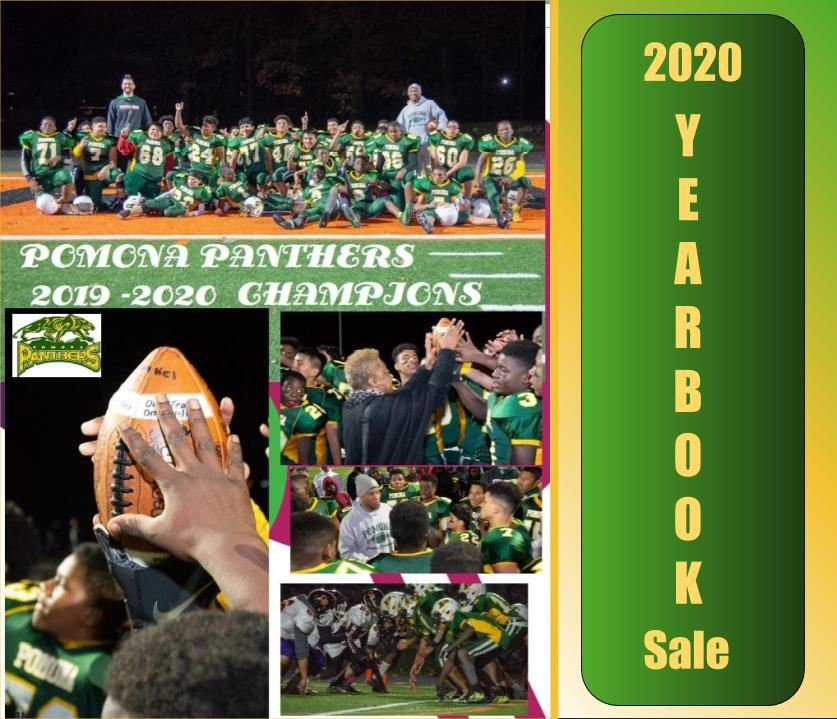 Pomona Middle 2020 Yearbook Sale