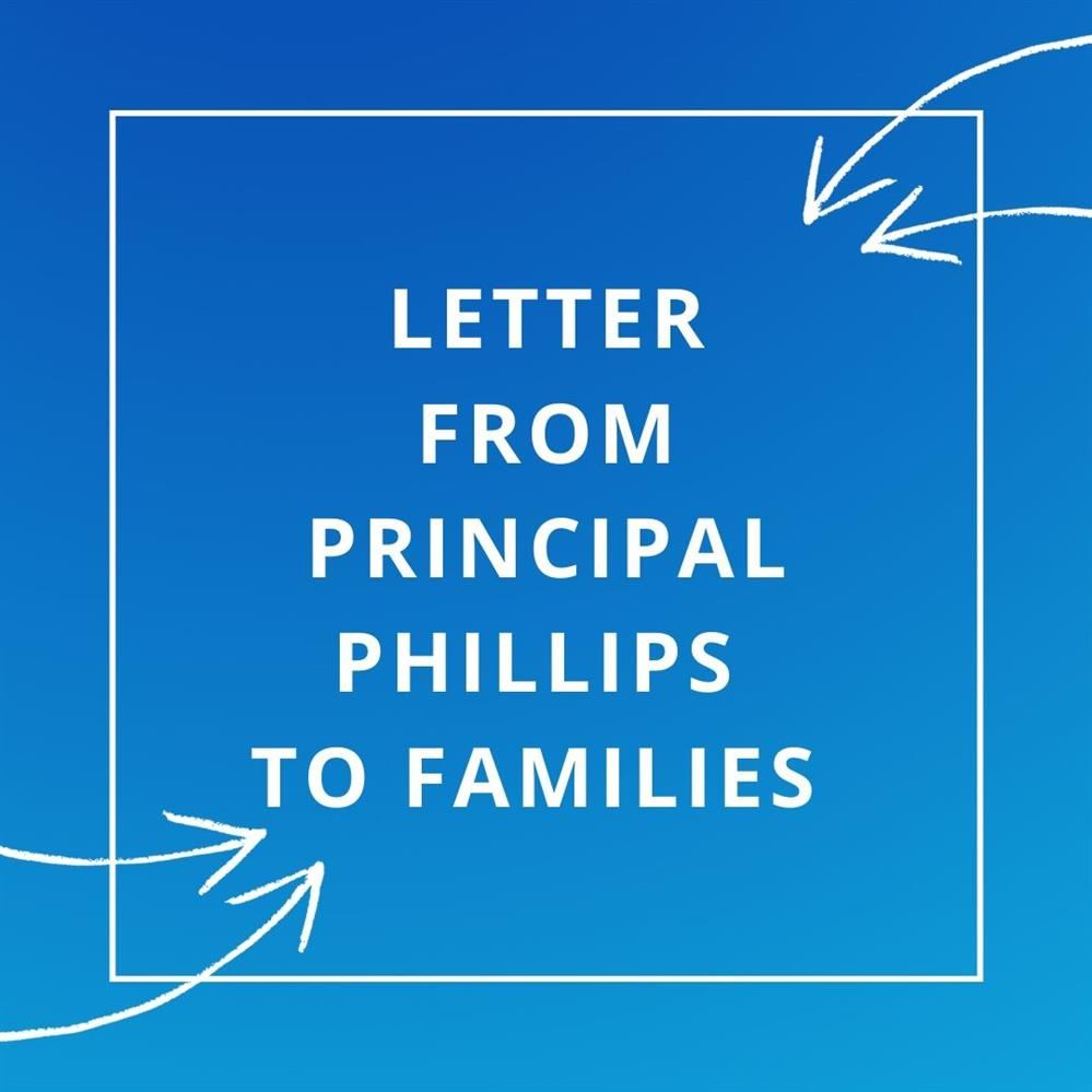 Please click HERE to access the letter from Mr. Phillips